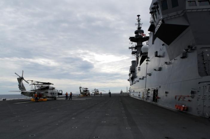 China hopes India, US won't disturb South China Sea peace