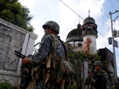 Marines mosque Marawi City
