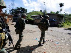 Marines in Marawi City