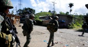 Marines in Marawi City