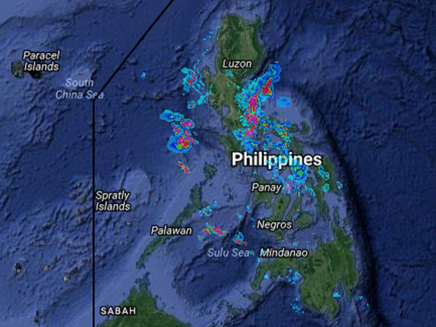 Weather Forecast Map Philippines Rainy Tuesday forecast   Interaksyon
