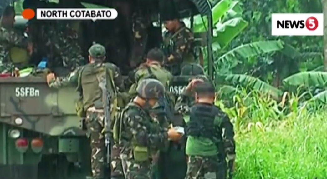 Evacuees in North Cotabato attack swell to 1000; clearing operations ongoing