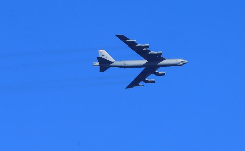Russian fighter jet intercepts U.S. strategic bomber: Ministry