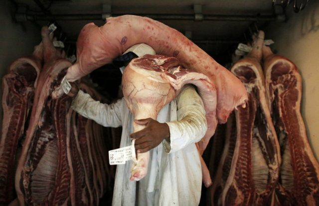 Sao Paolo butchery
