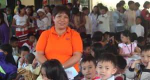Baguio public school teacher and pupils