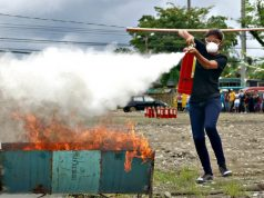 Butuan BFP firefighting demo