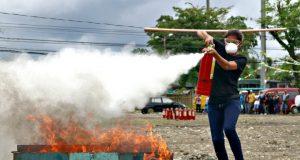 Butuan BFP firefighting demo