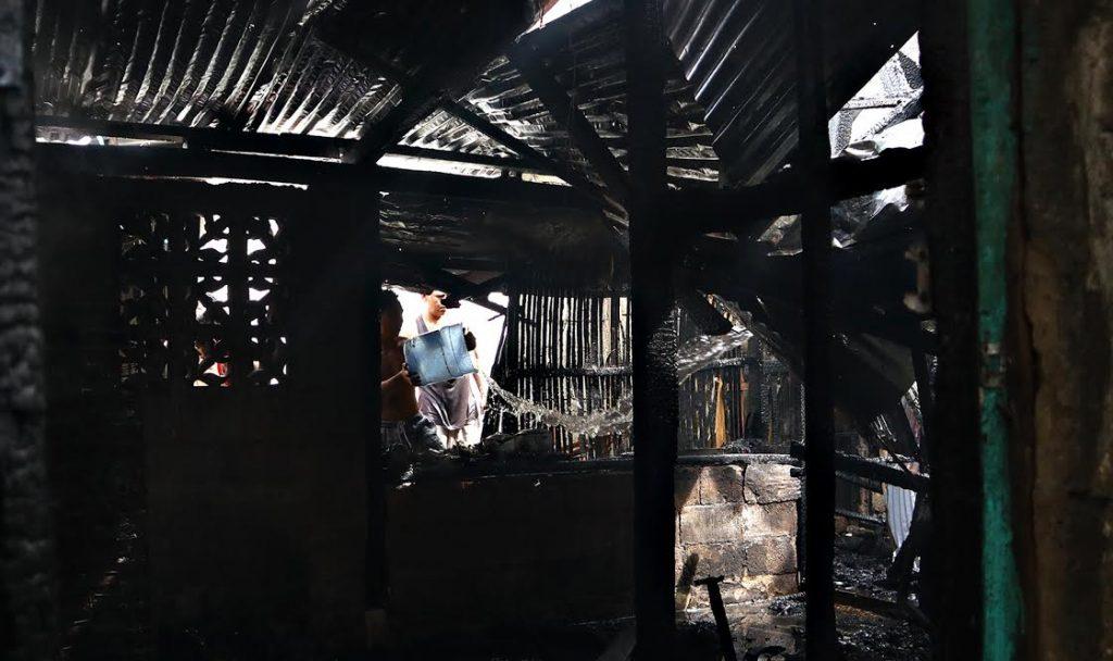 Resident fights fire CDO