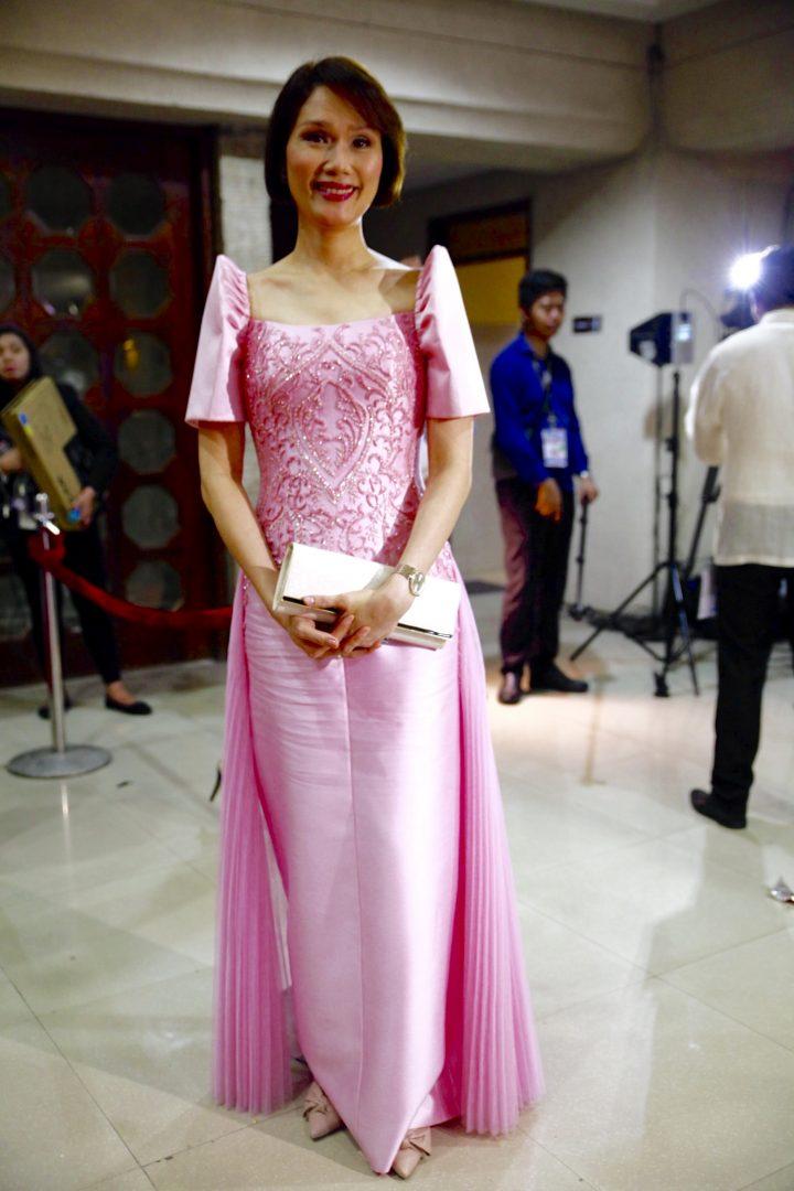 LOOK   Mindanao-inspired, political fashion statements at SONA 2017 ...