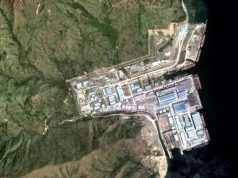 Hanjin facility Subic aerial view
