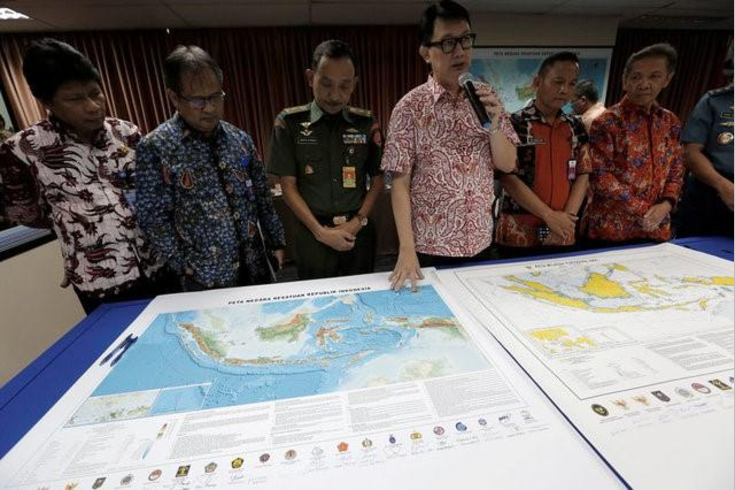 Indonesia renameing part of South China Sea