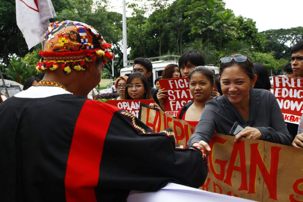 LOOK | What the lumad want: end to militarization, martial
