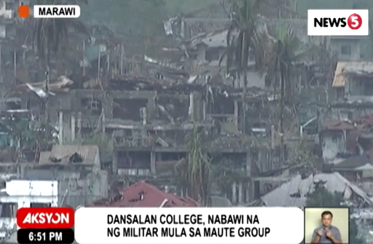 Troops overran Maute stronghold in Marawi