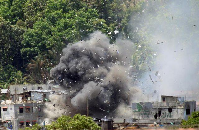 OV10 Bronco bomb blast