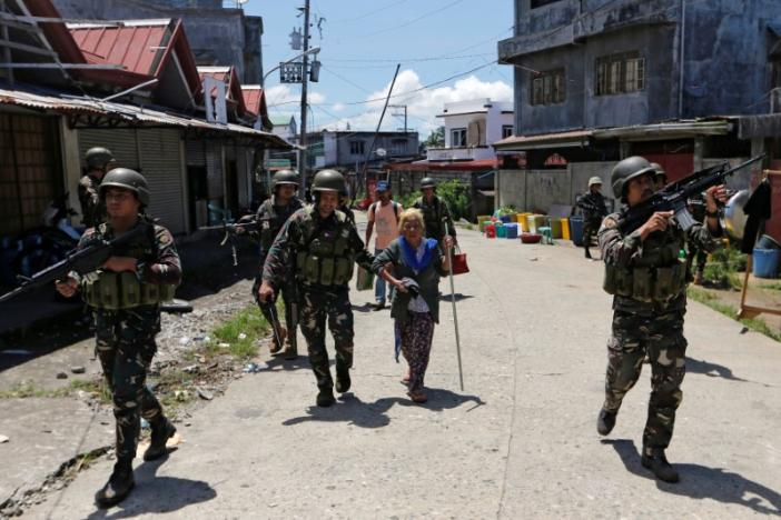 Marawi woman rescued