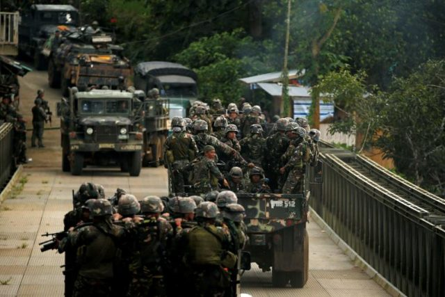 Marawi military column