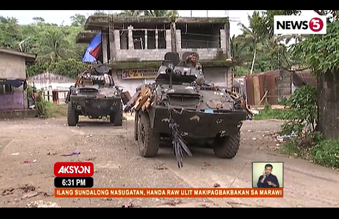 Airstrikes launched anew in Marawi