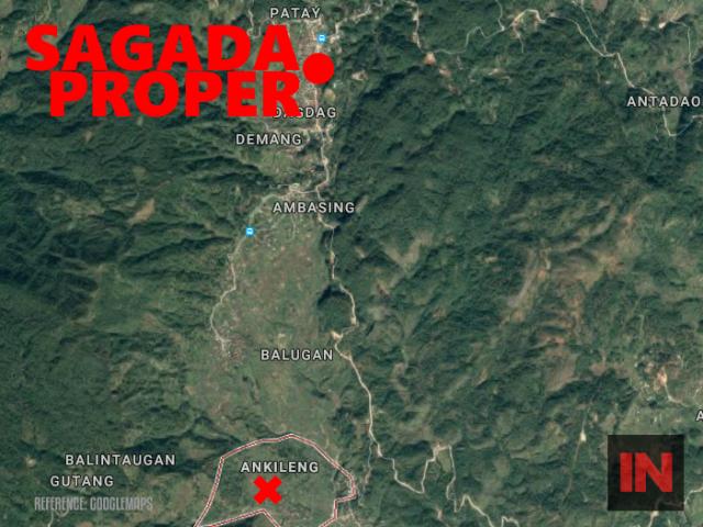 Googlemap Sagada Ankileng