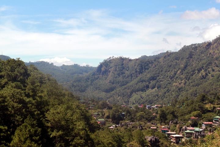 Sagada among mountains and forests