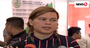 Sara Duterte rates her father