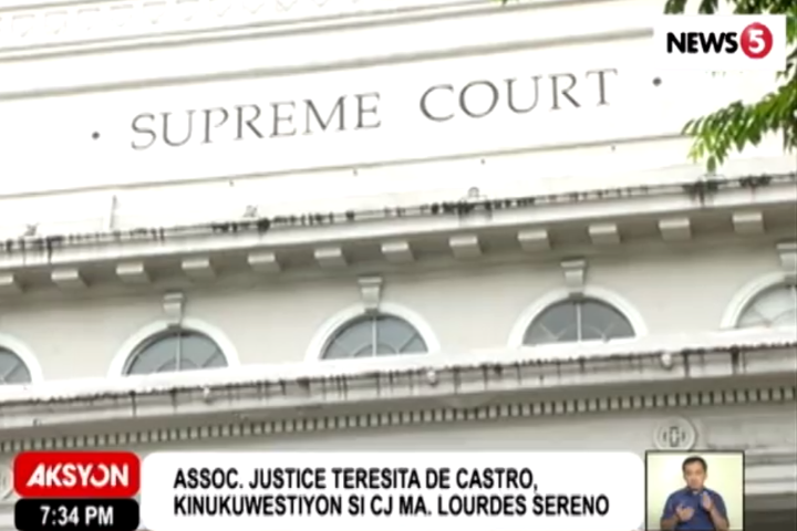 House committee issues show-cause order vs Sereno lawyers