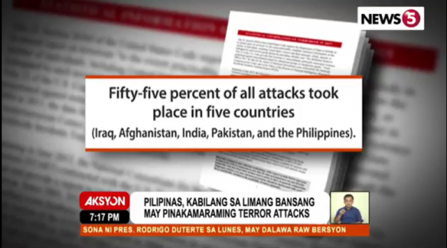 US State Dept terrorism in PH