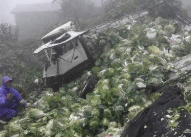 Vegetable truch accident Atok Benguet