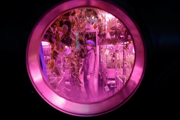 Chinese Scientists Conduct Experiment Simulating Life on the Moon