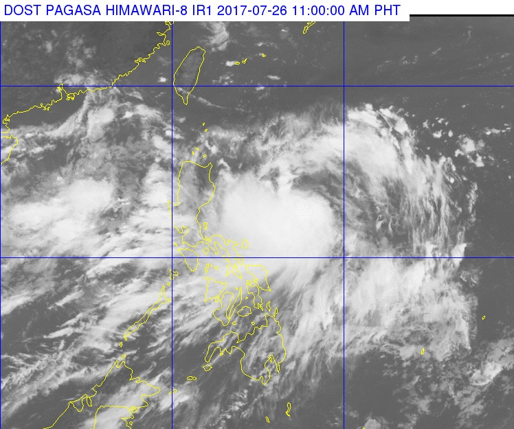 'Gorio' intensifies into severe tropical storm; Batanes under signal number 1