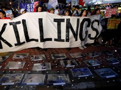 Anti killings rally