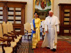 Pope Francis Aung San Suu Kyi