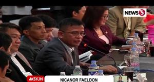BOC Nicanor Faeldon
