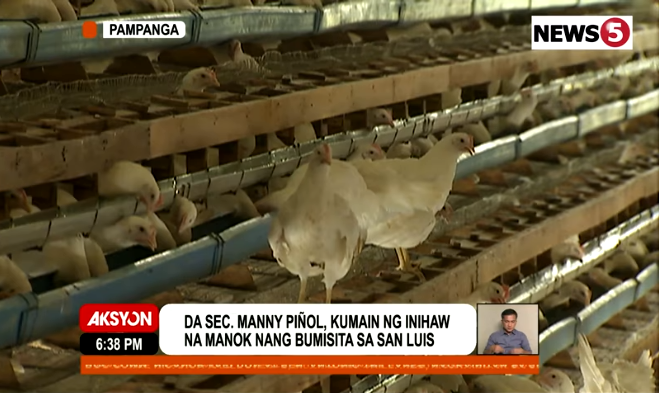 Barangays near bird flu outbreak in Pampanga — MAP