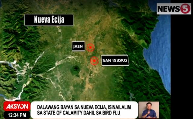 Googlemap Jaen, San Isidro
