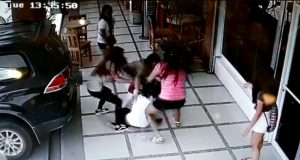 female gang brawl Butuan