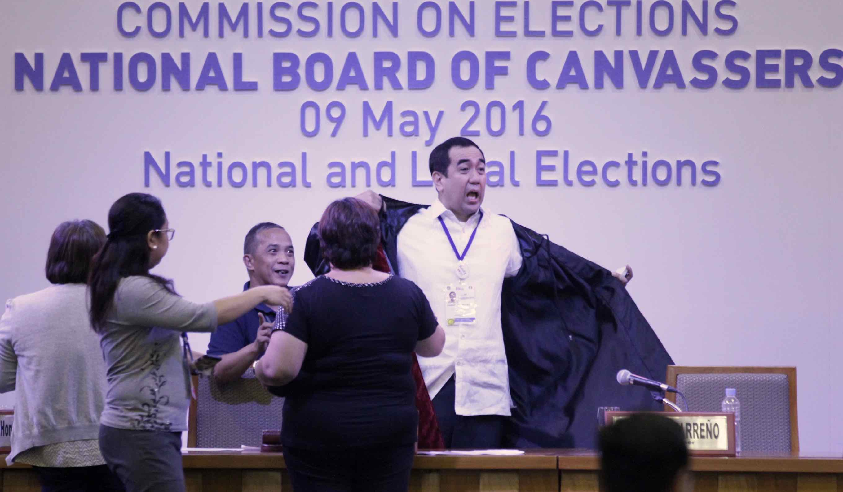 Comelec chief files criminal cases vs estranged wife