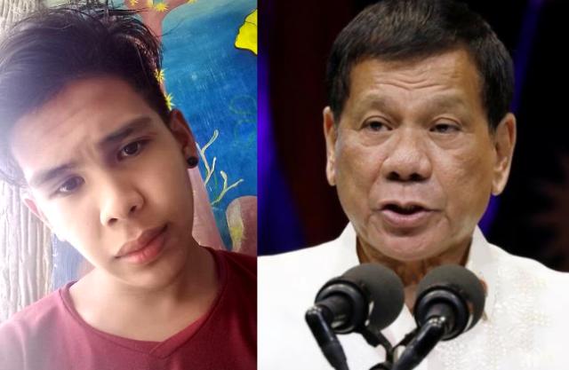 Kian delos Santos, Duterte