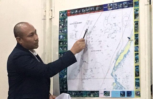 Gary Alejano Kota Island map