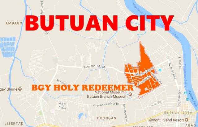Googlemap Butuan City Bgy Holy Redeemer