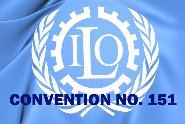 Resulta ng larawan para sa convention 151, ILO