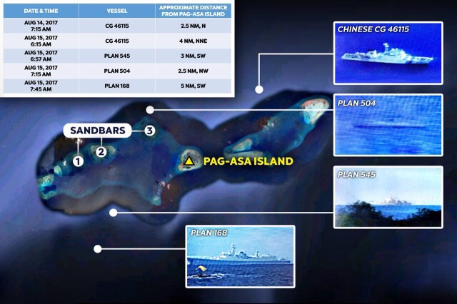 Military verifying reports Chinese vessels spotted near Pag-asa Island