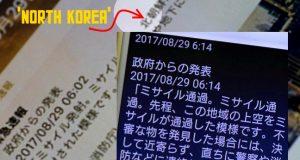 Japan NoKor missile alert