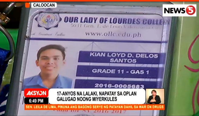 CIDG starts probe on Kian's death