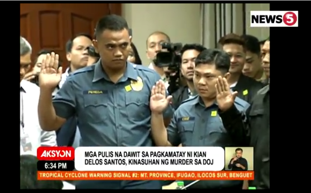 Cops implicated in the Kian killing
