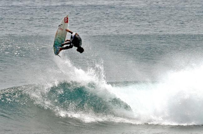 Cloud 9 Siargao surf break