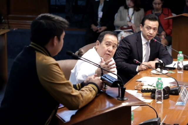 Dprdon senate BOC hearing
