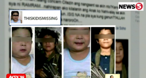 Missing child feared drafted to Maute