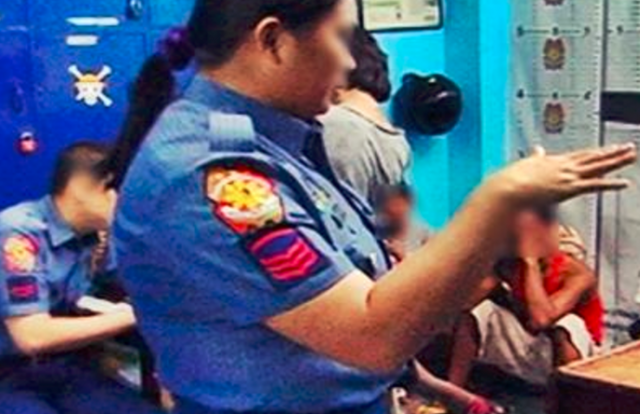 QC cops, unaccompanied minors