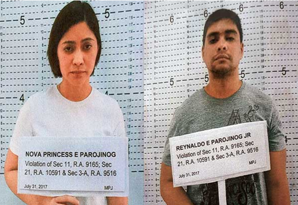 Criminal cases vs. Parojinog siblings filed with Ozamiz court