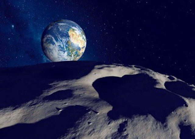 Asteroid near erath